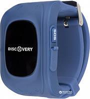 Часы для детей Discovery iQ3000 GPS dark blue