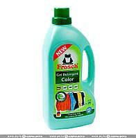 Жидкий порошок Фрош для стирки цветных тканей с ароматом яблока Frosch Color Detergent 1500 мл