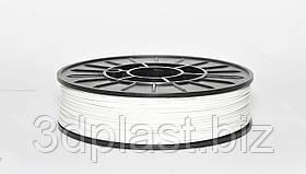 Нить ABS (АБС) пластик для 3D принтера, 1.75 мм, белый 2.5
