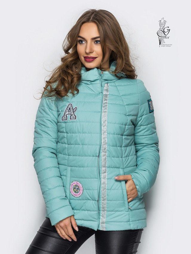 Женская курточка весенняя больших размеров Найс-1
