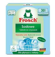 Таблетки для мытья посуды в посудомоечных машинах Натуральная Сода Frosch Sodowe 30 шт