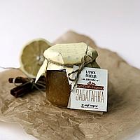 Лимонно-имбирный джем Гавра (340 г, без сахара)