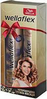 """Подарочный набор для женщин """"Wellaflex"""" (лак + лак) непревзойденная упругая фиксация."""
