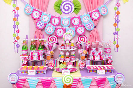 "Кенди бар (Candy bar) ""Baby shower"""