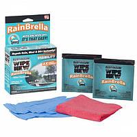 Современное средство RainBrella для защиты стекол автомобиля от дождя, грязи, пыли и прочего RainBrella