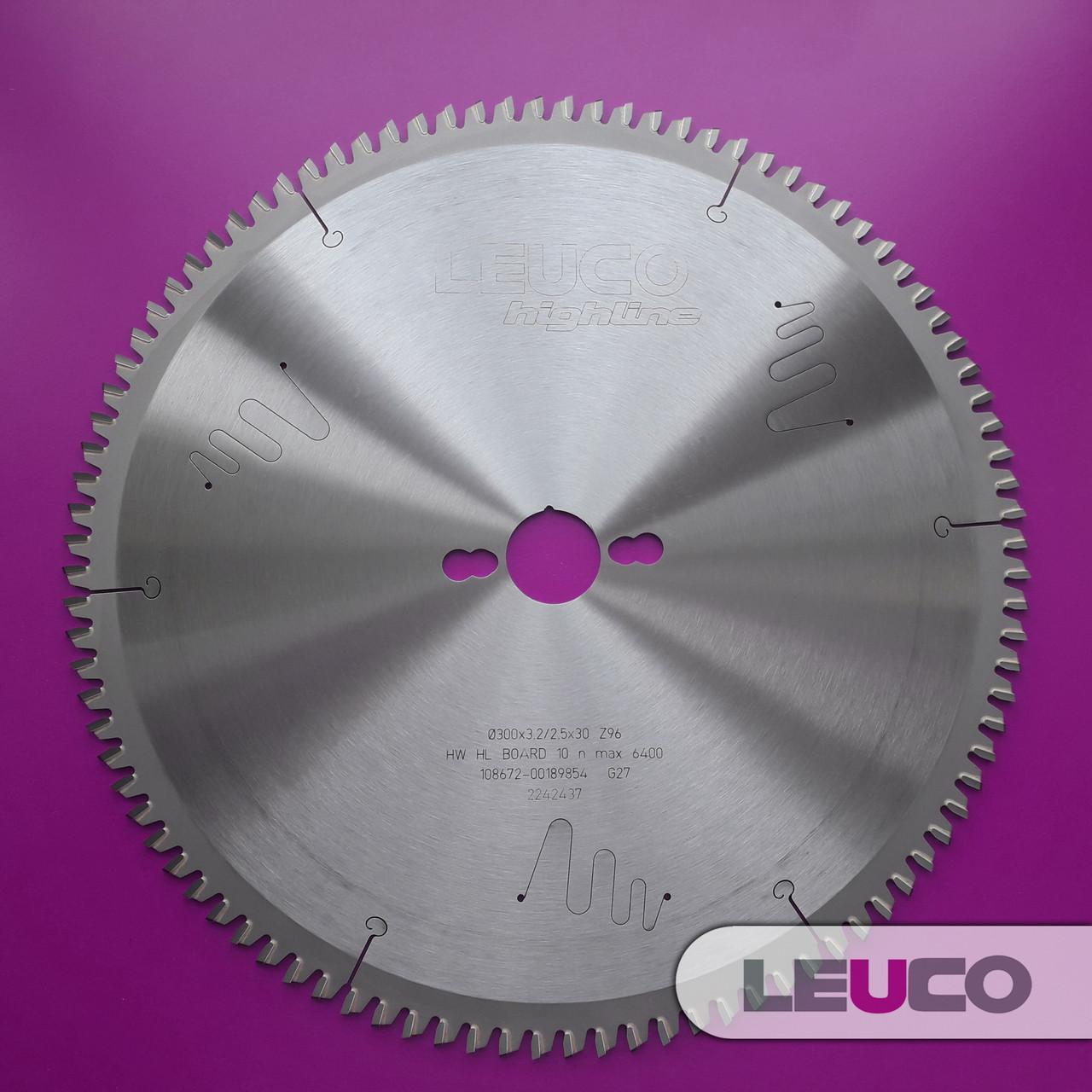 300x3,2x2,5x30 Z=96 Дисковые пилы Leuco по алюминию для торцевания и косого реза