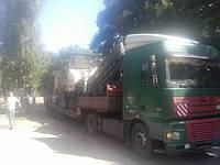 Транспортировка негабаритного груза, услуги трала