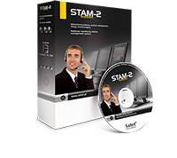 STAM-1 BT плата STAM-1P (мониторинг по тел. линии) и прогр. обеспеч. STAM-1 для DOS
