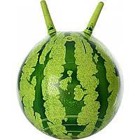 Мяч для фитнеса с рожками 38 см, арбуз, MS0473