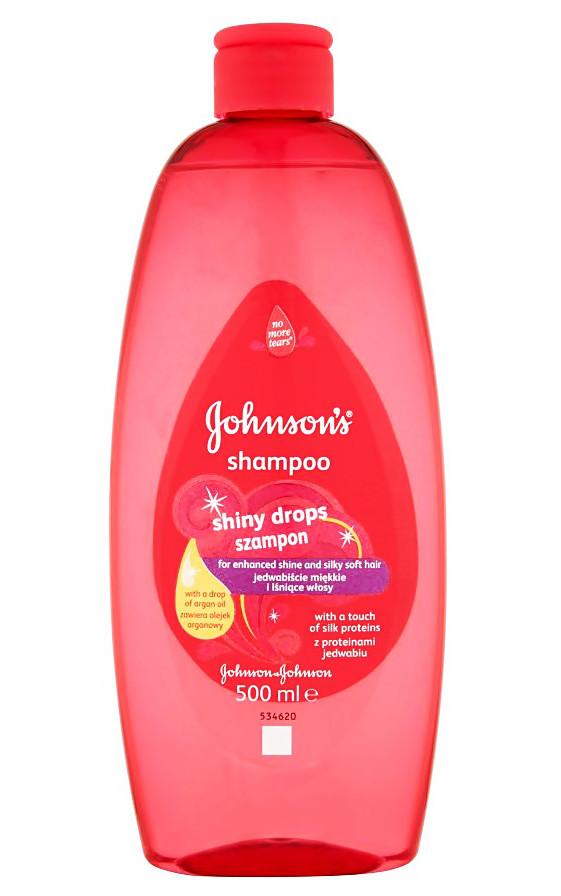Шампунь дитячий  Johnson's Baby shiny drops 500 мл