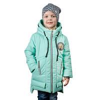 Детские теплые куртки для девочек