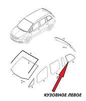 Автомобильное стекло форточка задняя глухая левая BMW 1 SERIES СД ХБ 2004- зеленое