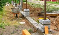 Установка забора бетонного
