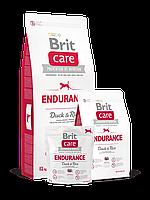 Корм Brit Care Брит Кеа Endurance Duck Rice для активных собак всех пород утка с рисом, 3 кг