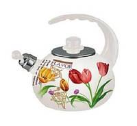 Чайник эмалированный со свистком (2,5 л) MAESTRO MR-1318