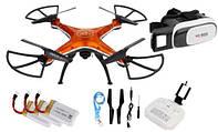 Квадрокоптер дрон D99A камера WI-FI очки VR 3D + 3xAKU Z299O, фото 1