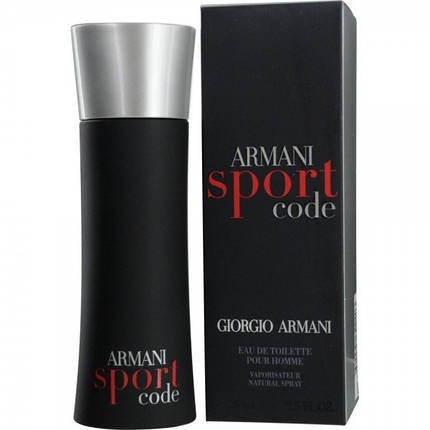 Мужской парфюм Giorgio Armani Black Code Sport 125 ml копия, фото 2