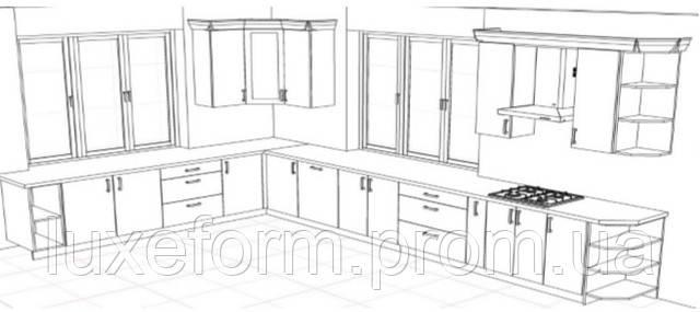 Готовые фасады МДФ для Вашей мебели