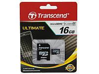 Карта памяти Transcend microSD 16GB class 10