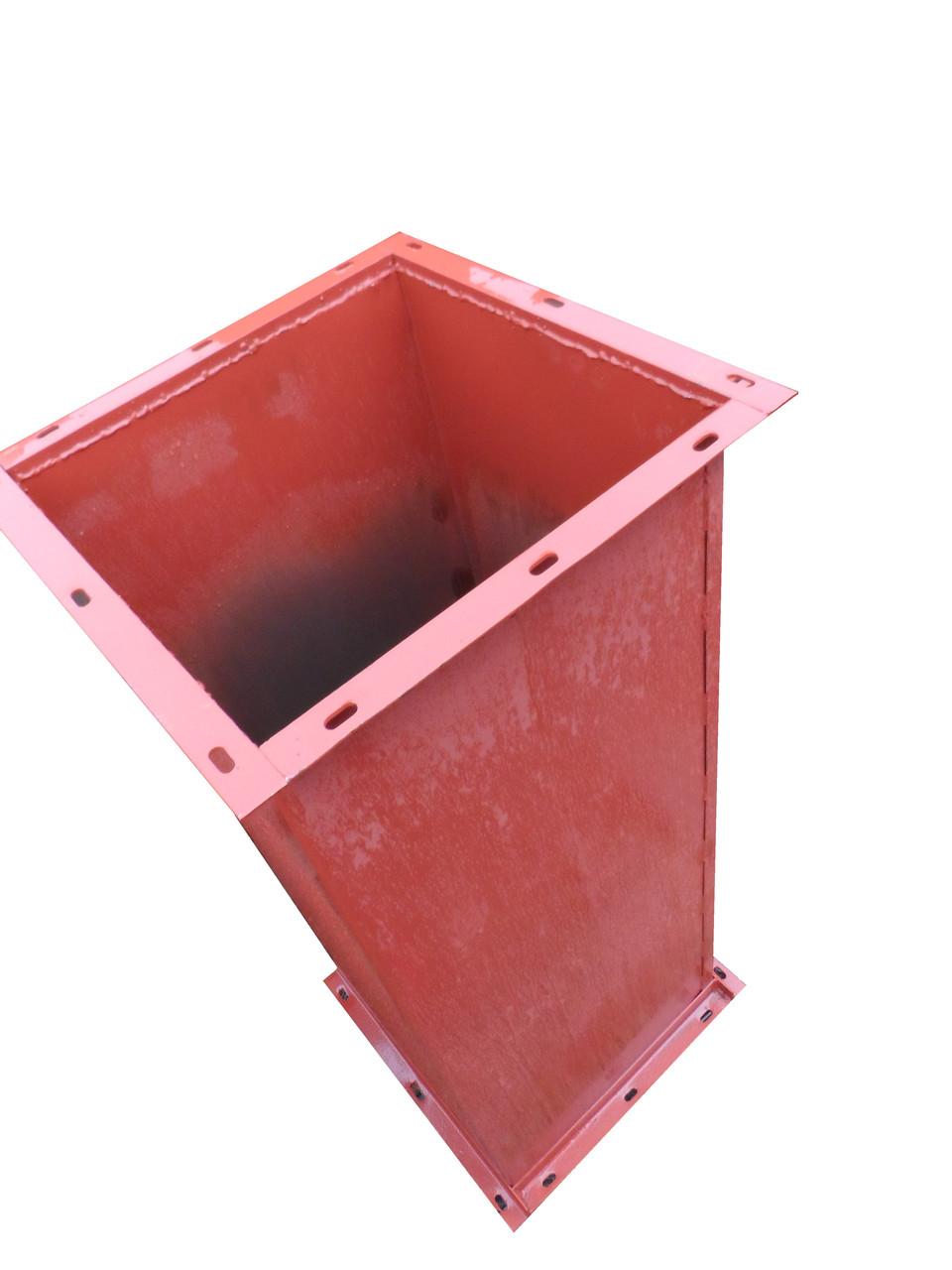 Труба-перехід (додаткова на свічку) (L-1,0 м; s-1,2 мм) пылеотделяющего ЦОЛ-3 з двома фланцями ..