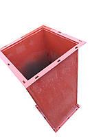 Труба пылеотделяющего ЦОЛ-3 с двумя фланцами