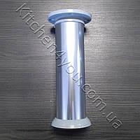 Ножка мебельная круглая IS 42GL-150 мм. алюминий глнцевый, фото 1