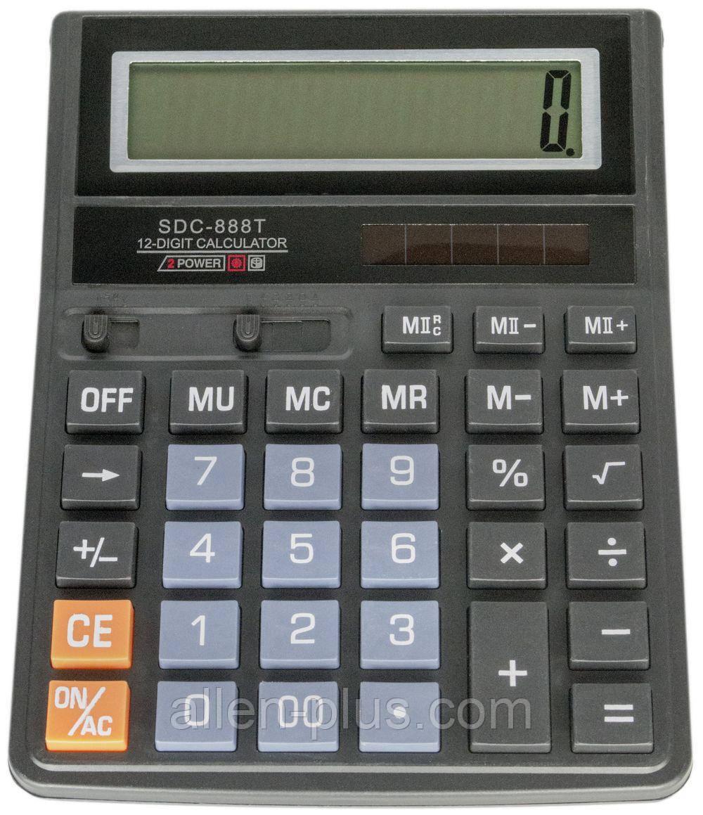 Калькулятор настольный SDC 888T - 12 цифр (РЕПЛИКА)