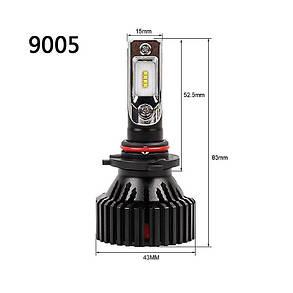 Светодиодные лампы HB3 LED Т8, фото 2