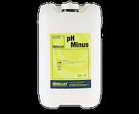 Descon pH Minus 25 кг жидкий для дозирующий станций. Немецкий рН минус для бассейна. рН минус жидкий