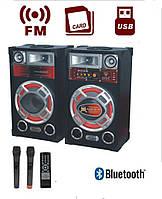 Акустическая система USBFM610+мик FM+USB+Bluetooth)