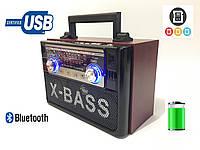 Радиоприёмник Golon RX-628BT с пультом ДУ (Bluetooth/USB/Аккумулятор)