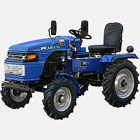 Трактор  DW 150RXL (15 л.с., колеса 5,00-12/6,5-16, регулируемая колея, с гидрав., новый дизайн, 4 датчика, бл