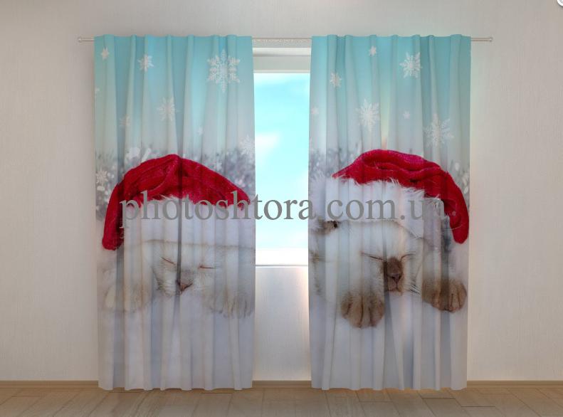 "Фото шторы ""Два котенка"" 250 х 260 см"