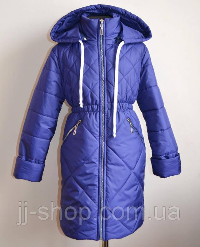 Детское пальто демисезооное для девочек синтепоне