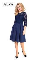 Платье с гипюром Амур, фото 1