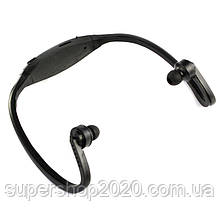 Плеєр MP3 спорт + навушники +FM (змінна батарея)