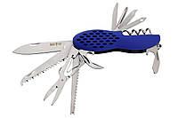 Нож многофункциональный 157 мм (14 в 1) Grand Way 8060 BU