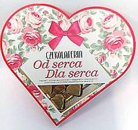 Конфеты с молочным шоколадом, арахисовой начинкой и кусочками соленого арахиса Czecolateria, 106,5гр