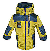 Куртка парка на мальчика весна осень на 1- 9 лет