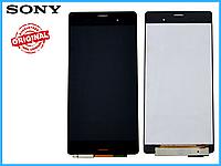 Дисплей + сенсор (модуль) Sony D6603/ D6633/ D6643/ D6653 Xperia Z3 черный оригинал (Китай)