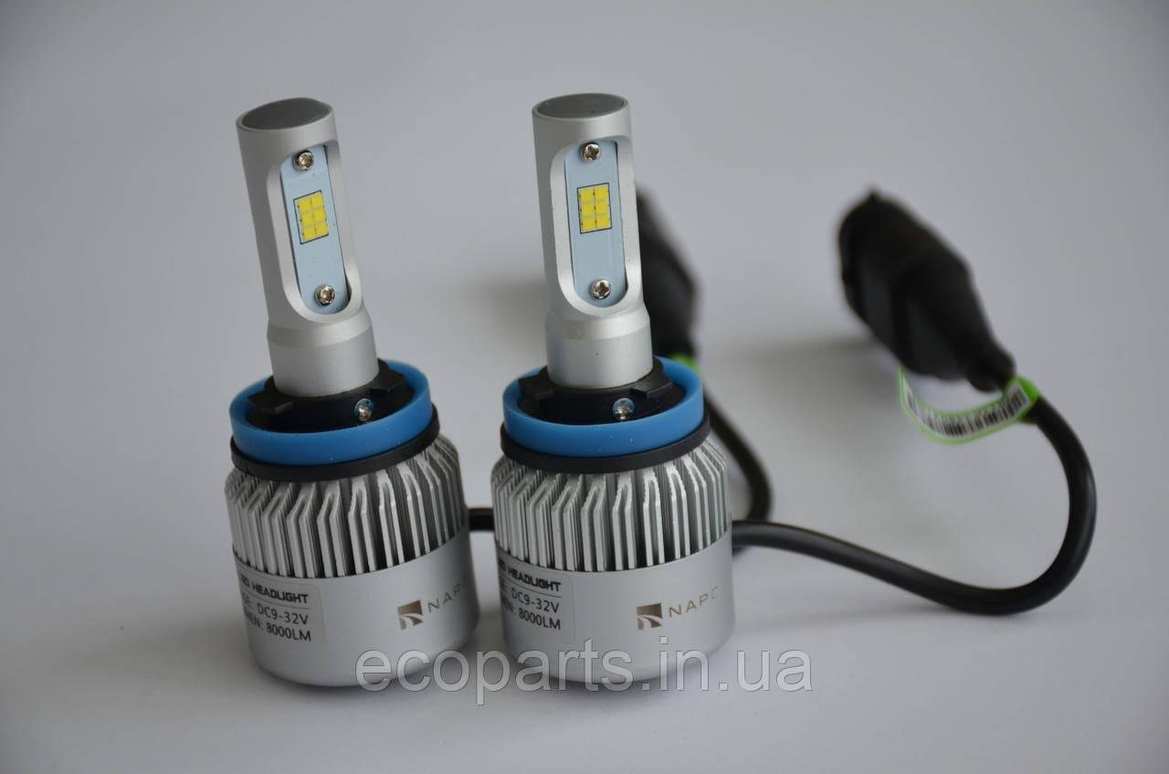 LED лампи протитуманні фари Nissan Leaf