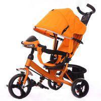 Велосипед трехколесный TILLY Trike T-347 оранжевый