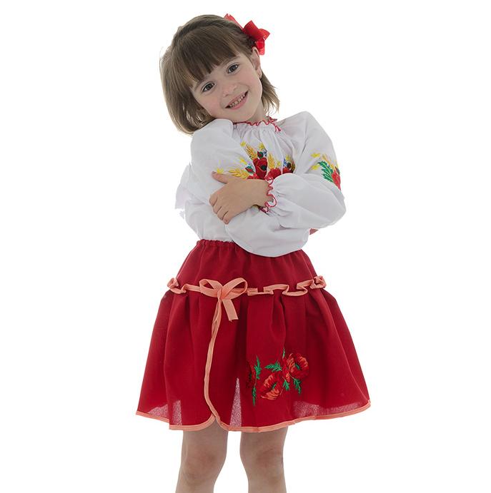 Дівоча спідниця в українському слиті