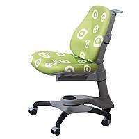 Детское кресло Оксфорд KY-618 Green Circle зеленое с белыми кругами