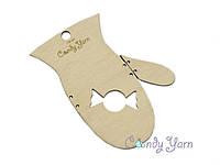 Блокатор для вязания варежек (митенок) Натур, детский 7-8 лет
