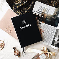 Ежедневник-блокнот Chanel Diary Black черный
