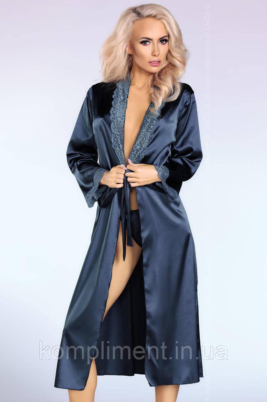 Атласный халат  YASMEEN от Livia Corsetti