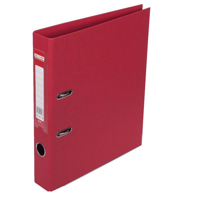 Папка регистратор А4 5см Buromax двухсторонний 3002_Красный