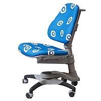 Детское кресло Оксфорд Comf pro KY-618 Circle Blue синее с белыми кругами