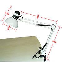Настольная лампа белая МТ-800 (N800)